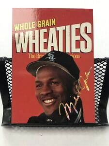 1994-95 Sports Star USA Michael Jordan Wheaties Card