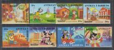 S812. Antigua & Barbuda - MNH - Cartoons - Disney's - Various Characters