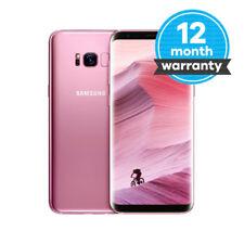 Samsung Galaxy S8 - 64GB - Rose Pink (Unlocked) Smartphone Very Good Condition
