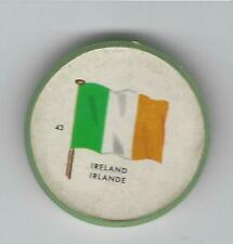 1963 General Mills Flags of the World Premium Coins #43 Ireland