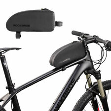 RockBros Road Bike Waterproof Cycling Portable Front Tube Frame Bag Black Size M
