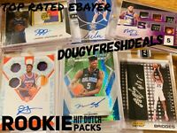 ROOKIE RC LOT 15 CARDS AUTO JERSEY AUTOGRAPH PATCH LEBRON KOBE LUKA ZION READ!!
