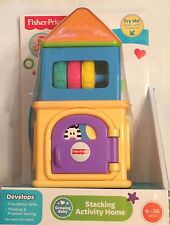 NIB Fisher-Price Growing Baby Stacking Activity Home Toy