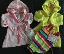 Baby Girls Swimwear Robe Cover Up Lot Size 0-9 & 12 Months