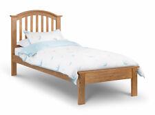 OLIVIA OAK FINISH BED FRAME SINGLE 3FT 90CM  LOW FOOT END