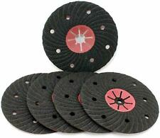 "5 Semi Flexible 180mm / 7"" Silicone Carbide Abrasive Fibre Sanding Discs 50G"