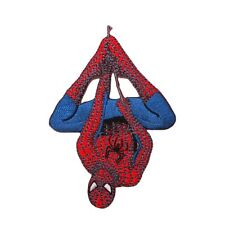 Spider-Man Hanging Web Line Patch Marvel Comics Superhero Fan Iron-On Applique