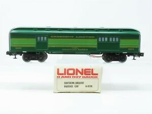O Gauge 3-Rail Lionel 6-9530 SOU Southern Crescent Limited Baggage Passenger