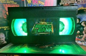 WWE Money In The Bank, VHS Night Light, Desk Lamp, Led, Bedroom Lamp, TV, Kids