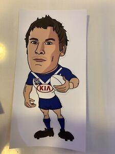 NRL Bulldogs Josh Jackson Sticker
