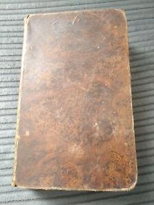 ANTIQUE 1809 HARDBOUND PILGRIMS PROGRESS BUNYAN AUTHOR BIOGRAPHY BUNGAY FREE P&P