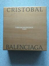 GENUINE NEW CRISTOBAL BALENCIAGA EDT 50ML INC 100g SOAP UNUSED RARE BOXED