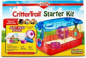 Kaytee CritterTrail Small Animal, Hamster, Mice, Gerbils, Habitat Starter Kit