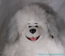 "Vintage 90s 1991 Polar Puff 24K Plush 16"" Ultra Fluffy Soft Sheepdog Puppy Dog"