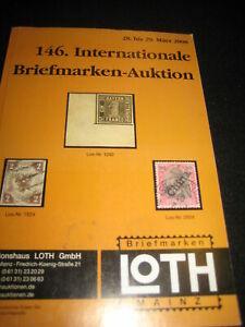 LIBRO -146 INTERNATIONALE BRIEFMARKEN- AUKTION - GUIDA FRANCOBOLLI