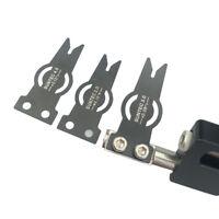 "1pc Decut Archery Arrow Rest Steel Blade 0.08/0.1/0.12"" Compound Bow Accessory"