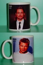 BRAD PITT - with 2 Photos - Designer Collectible GIFT Mug