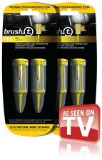 Brush-t Golf Tees XLT 4pk - Yellow