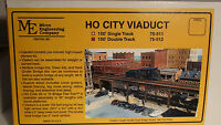 HO Micro- Engineering 75-512 HO CITY VIADUCT 150' DOUBLE TRACK BIGDISCOUNTTRAINS