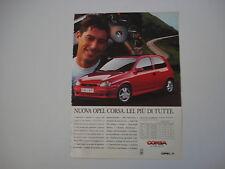 advertising Pubblicità 1994 OPEL CORSA GSi 16V