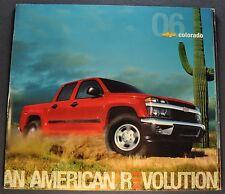 2006 Chevrolet Colorado Pickup Truck Brochure Z85 Z71 4x4 Excellent Original 06