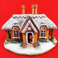"Lilliput Lane Kerry Lodge New No Box 4"" England 1995 Christmas Lodge Collection"