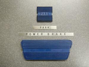 1963 1964 Buick Riviera LeSabre Wildcat Electra Brake Pad & Parking Pad Blue