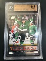 2013-14 Upper Deck Alex Chiasson Young Guns Rookie BGS 9.5
