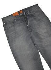 Hugo BOSS 50260775 Grey Denim Orange 63 Dolphin slim fit jeans w32/l36