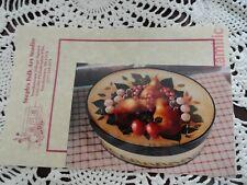 Steph's Folk Art Studio Touchstones Small Oval Fruit Box