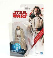 """Star Wars Force Link Luke Skywalker Jedi Master 3.75"""" Figure Disney Hasbro - NEW"""