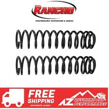 "Rancho 3.5"" Front Coil Springs For 18-20 Jeep Wrangler SPORT SAHARA JLU 4 Door"