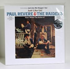 PAUL REVERE & THE RAIDERS Just Like Us 180-gram WHITE COLORED VINYL LP Sealed