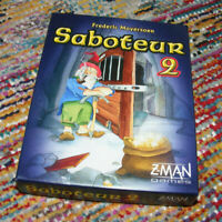 SABOTEUR 2 Card Game Frederic Moyersoen Z-Man Games 2011 Made in Germany NEW