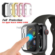 iWatch 40mm/44mm Screen Protector Case Snap On Cover for Apple Watch Series 5 4