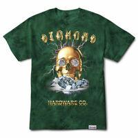 Diamond Supply Co Ring Girl Printed Crew Men/'s T-shirt White a15dpa60-wht