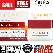 L'Oreal Paris Revitalift Pro Retinol Day Cream SPF30 Anti Wrinkle Face UVA/UVB