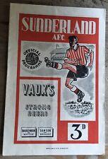 More details for sunderland v tottenham hotspur spurs. 1950/51