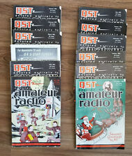 Vintage QST AMATEUR RADIO MAGAZINE - 1954 Full Year, 12 Issues