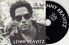 CD CARDSLEEVE LENNY KRAVITZ 2T I'LL BE WAITING + AGAIN TRES BON ETAT