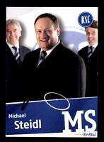 Michael Steidl  Autogrammkarte Karlsruher SC 2008-09 Original Signiert+A 159709