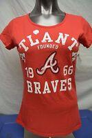 Womens G-III 4 Her MLB Atlanta Braves Baseball Shirt NWT S, L, XL