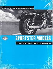 2002 Harley Sportster Electrical Diagnostic Service Manual Book Guide 99495-02