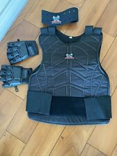 Maddog Paintball Chest Protector Neck Protector Safety Combo Black Large/Exlarge