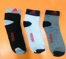 18 pair ankle length socks multi color, For Sports Men