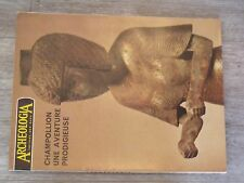 $$$ Revue Archeologia N°52 ChampollionArmes medievalesEtain Antiquite