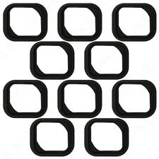 10x iPhone 5S Home Button Rubber Gasket Adhesive Sticker Holder Replacement