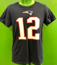 T834/240 NFL New England Patriots Tom Brady #12 Fanatics T-Shirt Men's 2XL NWT