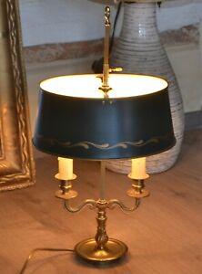 Lampe bouillotte, abat jour en tôle, en très bon état