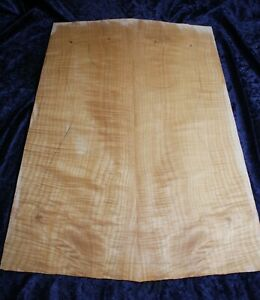 Book matched and joined 5A+ Stunning Flame maple Top #0002